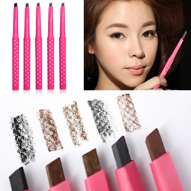 New Eyebrow Pencil Natural Waterproof Rotating Automatic Eye Brow Pencil Cosmetic Eyebrow Shaping Liner Pen