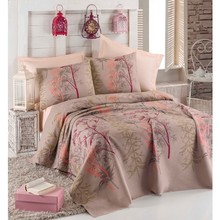 Eponj Home Double Personality Printed Pique Pack Urla Beige