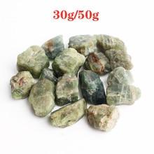 30g/50g Natural Green Apatite Crystal Rough Stone Raw Gemstone Mineral Specimen Irregular Reiki Heal недорого