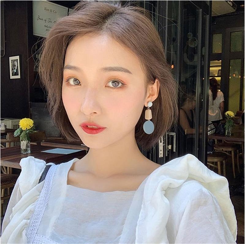 Blue Geometric Earrings 4