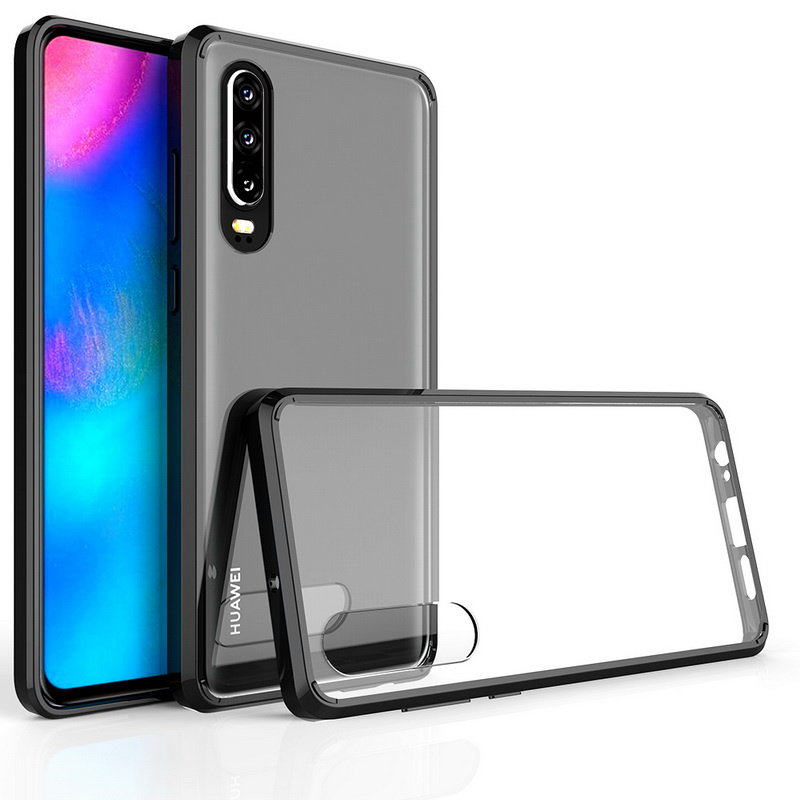 """Phone Cover For Huawei P30 ELE-L29 Case Shockproof Transparent Armor Hard Back Cover for Huawei P30 6.1"""" Protector Cases Fundas"""
