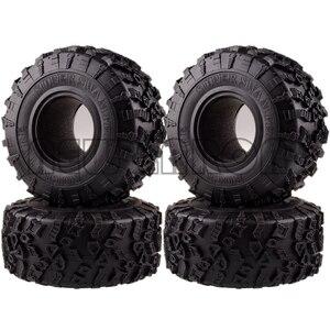 Image 1 - ENRON 4P pneus Super Swamper de 2.2 pouces, pneus de 132MM, pour RC 1/10 escalade, chenille 1:10 RR10 Wraith TRX 4 TRX4 KM2 YETI