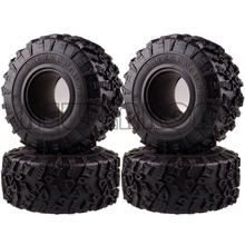 "NEW ENRON 4P 2.2"" Super Swamper Rocks 132MM Tyre Tires For RC 1/10 Climbing Rock Crawler 1:10  RR10 Wraith TRX 4 TRX4 KM2 YETI"