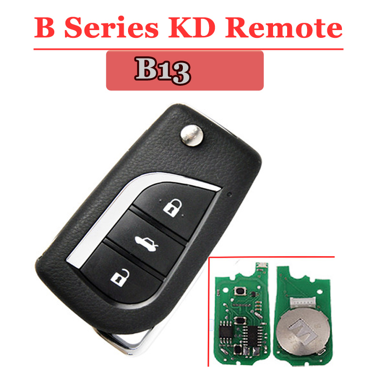 New Arrival Free Shipping(1piece) B13 KD Remote 3 Button B Series Remote Key For URG200/KD900/KD200