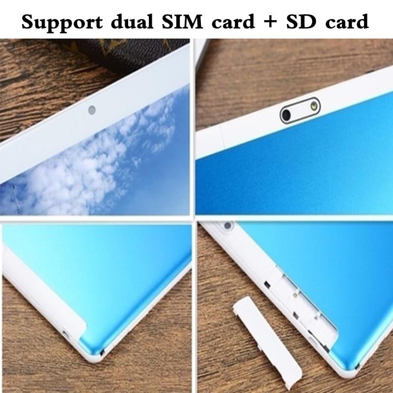 10.1 pouces 2.5D écran 3G 4G LTE double carte SIM tablette Octa Core 8GB RAM 128GB ROM Android 9.0 tablettes Wifi GPS FM - 6