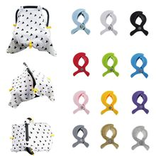 Toddler Infant Baby Stroller Accessories Solid Stroller Cover Useful Convenient Clip Blanket Toy Stroller Pegs Hook 12 Colors &&(China)