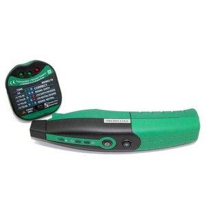 Розетка Finder цифровой выключатель Finder Открытый тестер цепи для домашнего офиса Завод JDH88