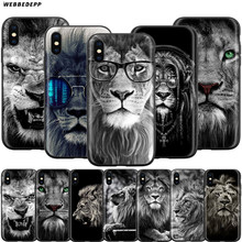 Webbedepp moda aslan tasarım kılıf Apple iPhone 11 Pro XS Max XR X 8 7 6 6S artı 5 5S SE(China)