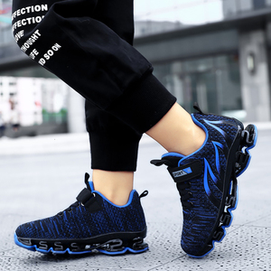 Image 2 - Big Children Running Shoes Boys Sneakers Spring Autumn Breathable Shoes Kids Sport Shoes Light Outdoor Hollow Sole Tenis Shoes