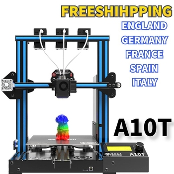 geeetech 3d printer a10t 3 in 1 out mixed property upgrade gt2560 v4 0 controlboard 220x220x250mm lcd2004 fdm ce Geeetech 3D Printer A10T 3 in 1 out mixed Property Upgrade GT2560 V4.0 Controlboard  220x220x250mm LCD2004 FDM CE