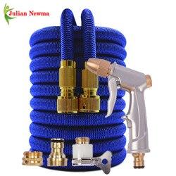 High Quality Garden Hose Water Gun Flexible Expandable Magic Watering Hose High Pressure Car Washer Hoses Garden Irrigation Tool