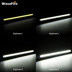 Image 5 - 5pcs/lot Magnetic Led Light USB Rechargeable COB Torch Multifunction Flashlight Work Lamp COB LED Hand Light For Car Repairing