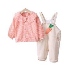 Модные детские комплекты одежды с героями мультфильмов для девочек;