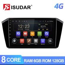 ISUDAR T72 QLED 4G אנדרואיד רכב רדיו עבור פולקסווגן/פולקסווגן פאסאט B8 2015  GPS CANBUS Carplay אוקטה core RAM 6GB ROM 128G DVR לא 2din