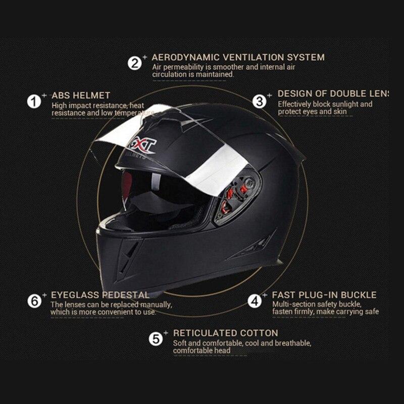 Мотоциклетные шлемы с двойным козырьком, гоночный скутер, мотоциклетный шлем Cruiser Touring Chopper, скутеры, уличные мото шлемы