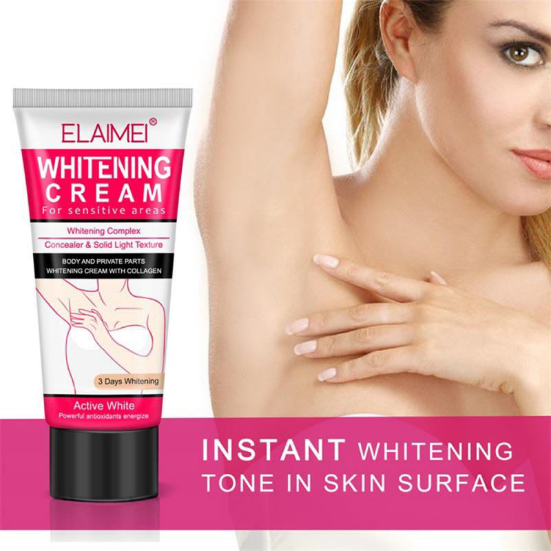 ELAIMEI Underarm Whitening Cream Repair To Melanin Armpit Elbow Care Acid Anti Winkle Moisturizing Treatment Cream TSLM1