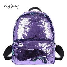 Female Designer Solid Solid Lock Zipper Black Retro School Bags For Teenagers Women Sequins Backpack Famous Brand Travel Plecak все цены