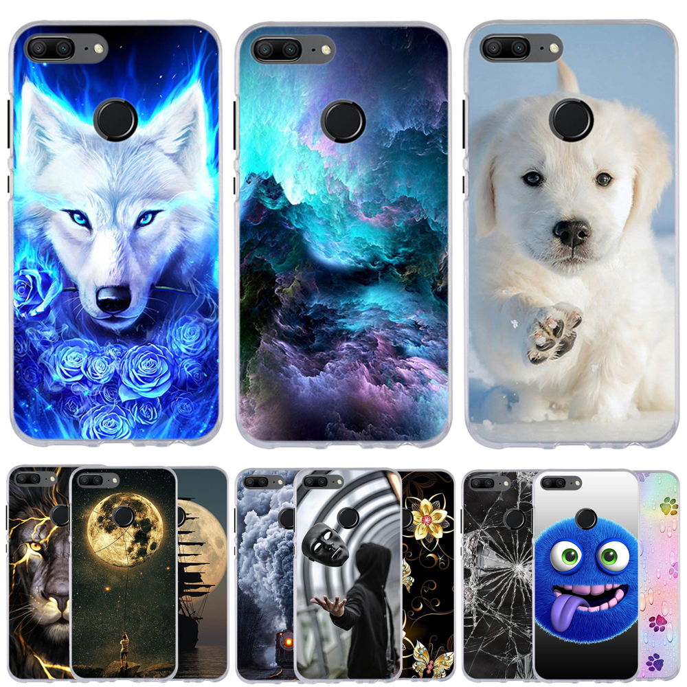 Case For Huawei Honor 9 Lite Case Silicone 3D Phone Case For Huawei Honor 9 Lite Cover Funda Shell Capas For Honor 9 Lite Coque