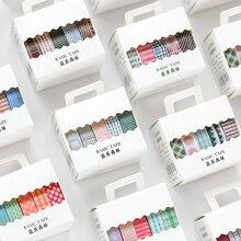 40 PÇS/LOTE sal série da floresta decoração fita washi mascaramento fita de papel