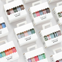 40 sztuk/partia salt forest seria dekoracji papieru taśma maskująca taśma washi
