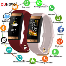 2020 Women Smart Watch Men Bracelet IPS Color Screen Heart Rate Monitor Blood Pressure Ladies Smartwatch for IOS Andriod цена и фото