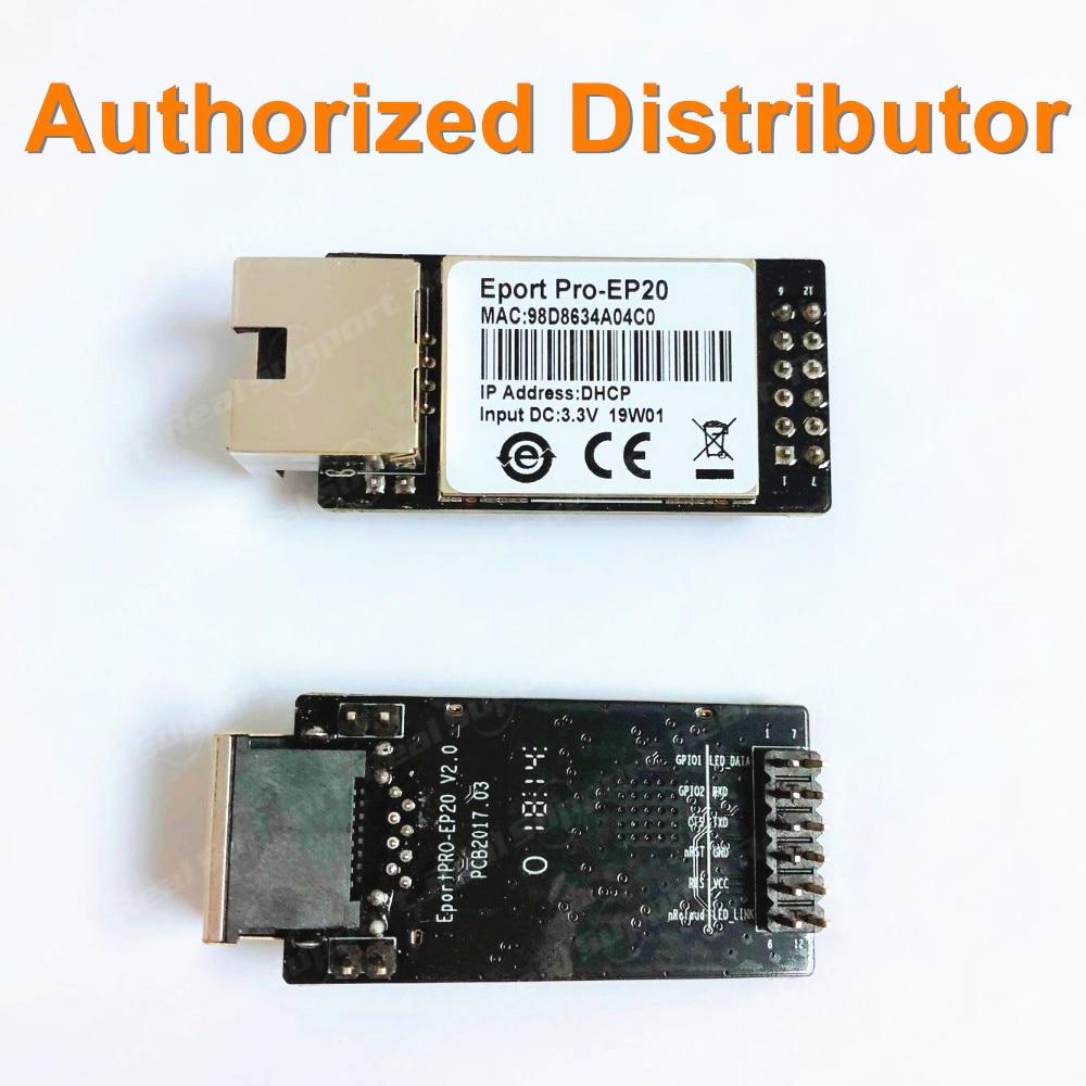 HF Eport Pro-EP20 Linux Network Server Port TTL Serial To Ethernet Embedded Module DHCP 3.3V TCP IP Telnet