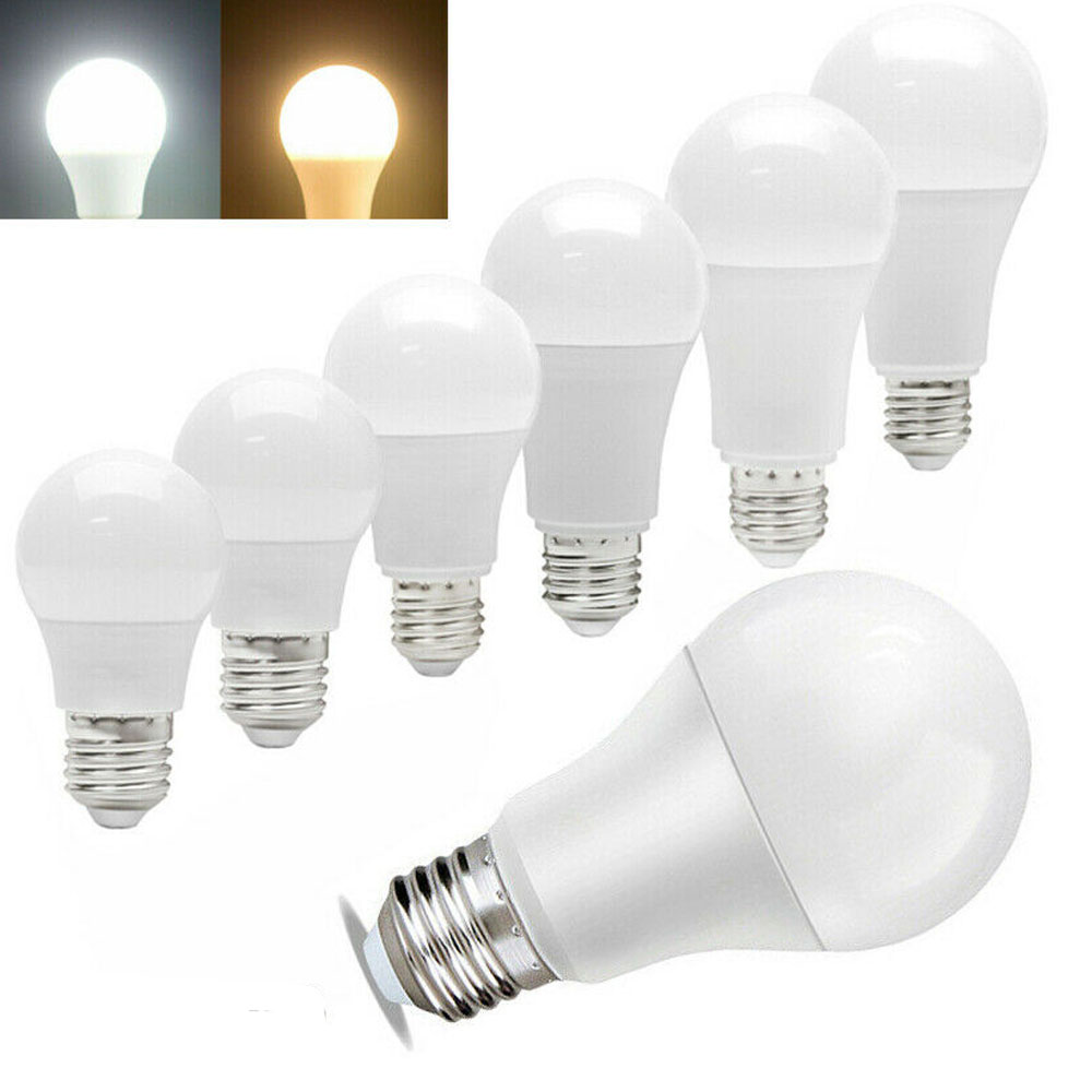 E26 E27 LED Globe Light Bulbs Lamp 3W 5W 7W 9W 12W 18W 20W Cool Warm White Light 110V 220V Home Lighting Plastic Clad Aluminum