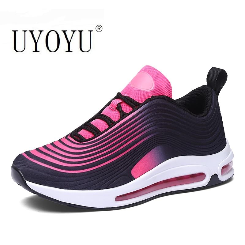 Большие размеры 36-47 полное кроссовки с верхом из сетчатого материала; Обувь для бега; Женская обувь мужская спортивная обувь Женская мода бе...