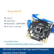 купить HBVCAM USB Camera Module Usb3.0 Interface 8MP Digital Zoom Camera Module  For WinXP/Vista/Win7/Win8 Linux по цене 3256.56 рублей