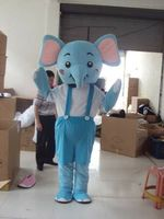 Elephant Mascot Costume Suits Cosplay Party Game Dress Outfits Clothing Advertising Promotion Carnival Halloween Easter Adults