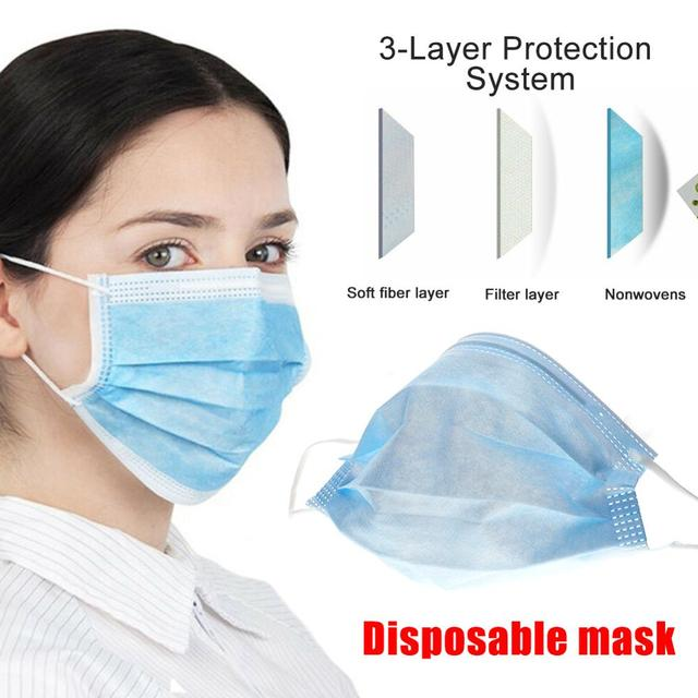 Cotton Cute PM2.5 Mouth Mask Anti Dust Mask Activated Carbon Windproof Mouth-muffle Bacteria Proof Flu Virus Fashion soft masks 3