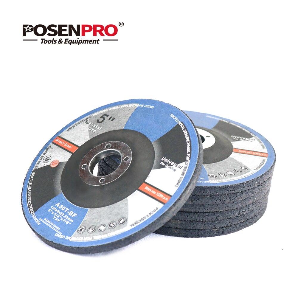 POSENPRO-abrasifs, en acier inoxydable, disques de coupe, meuleuse d'angle, roues de meuleuse longue durée, 125mm