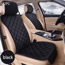 Housses de siège universelles pour voiture, ensemble de coussins quatre saisons, pour sièges avant et arrière, tapis de protection