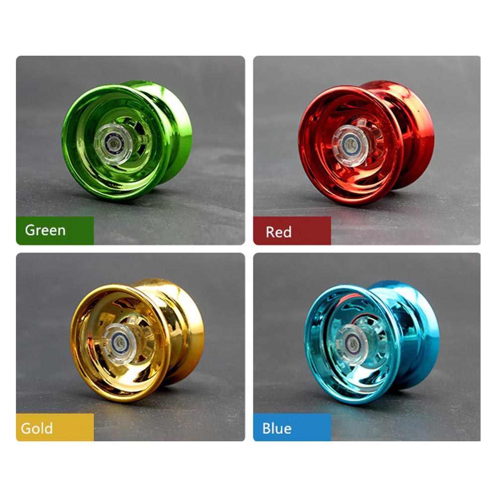 Nuevos niños de aleación de aluminio de la sensible YoYo pelota de juguete para niños de entretenimiento regalos para niños principiantes alumno