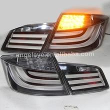 2010-2013 год для BMW F10 F18 520 525 530 535i светодиодный фонарь светильник задние фонари хром Корпус WH