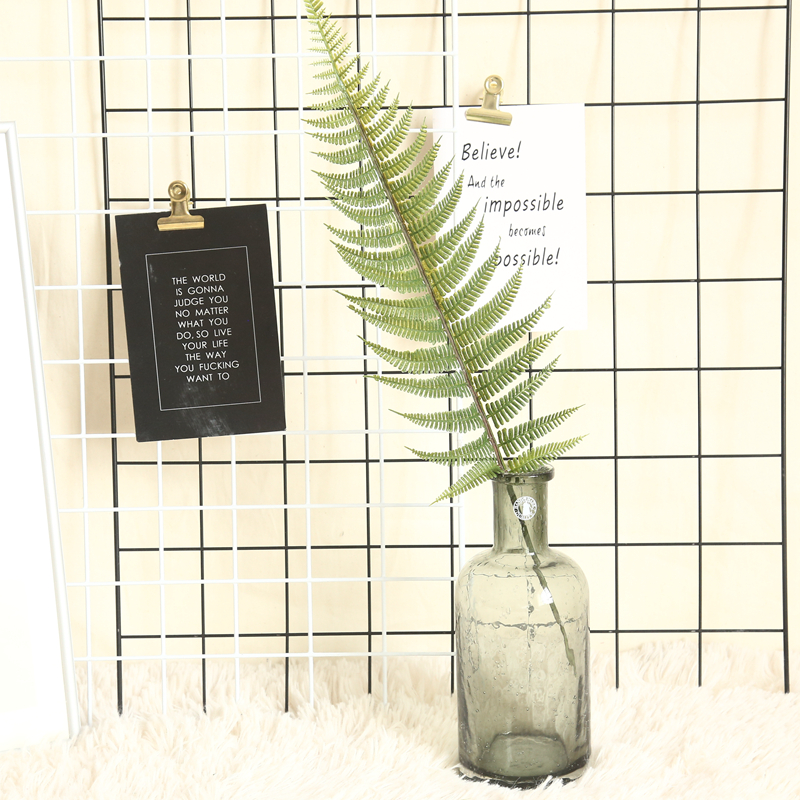1pc Home Decor Simulation Fern Leaf Artificial Flower Grass Green Plant Persian Leaves For DIY Wedding Christmas Decoration