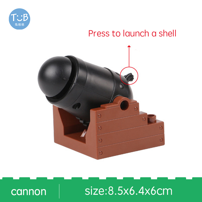 Big Building Blocks Princess horse car cannon Fence  Assemble Toys For Children Compatible With Brick Sets Bricks Baby Gifts