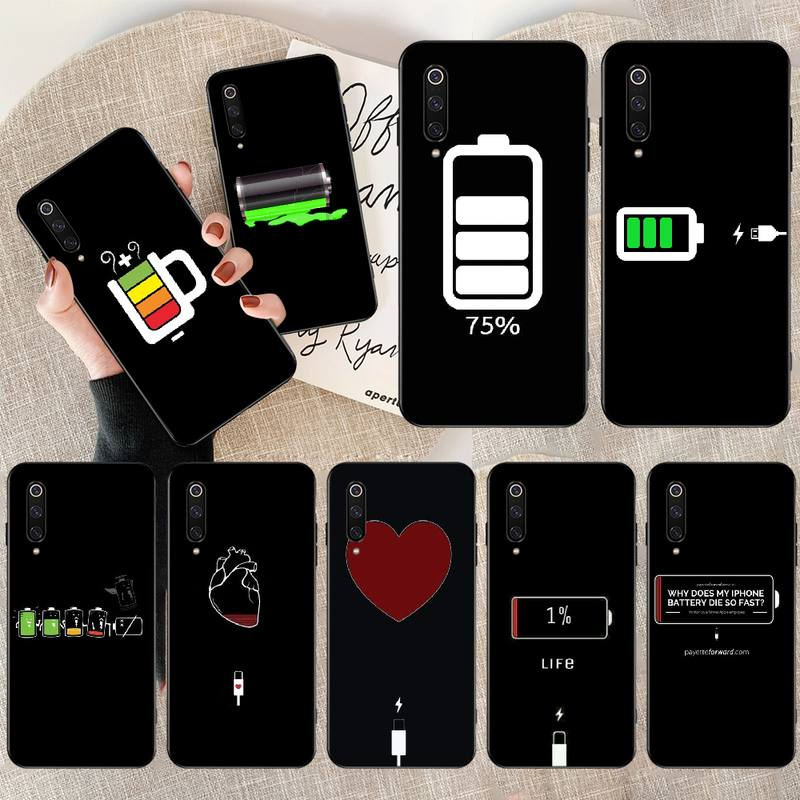NBDRUICAI simple <font><b>Battery</b></font> Life Cycle DIY Printing Phone <font><b>Case</b></font> cover for <font><b>Redmi</b></font> Note 8 8A 7 <font><b>6</b></font> 6A 5 5A 4 4X 4A Go Pro Plus Prime image