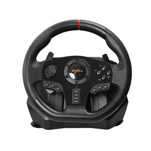 Image 1 - Gaming Steering Wheel Pedal PXN V900 Gamepad Racing Game Steering Wheel Pedal Vibration For PC/PS3/4/Xbox One/Xbox /Switch 90°