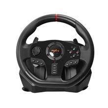משחקי הגה דוושת PXN V900 Gamepad משחק מירוצי היגוי גלגל דוושת רטט עבור PC/PS3/4/xbox אחד/Xbox/מתג 90 °