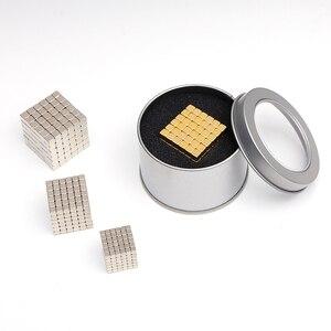 Image 3 - 216 stks/set 3mm Magic Magneet Magnetische Blokken Ballen NEO Kralen Building Speelgoed PUZZEL