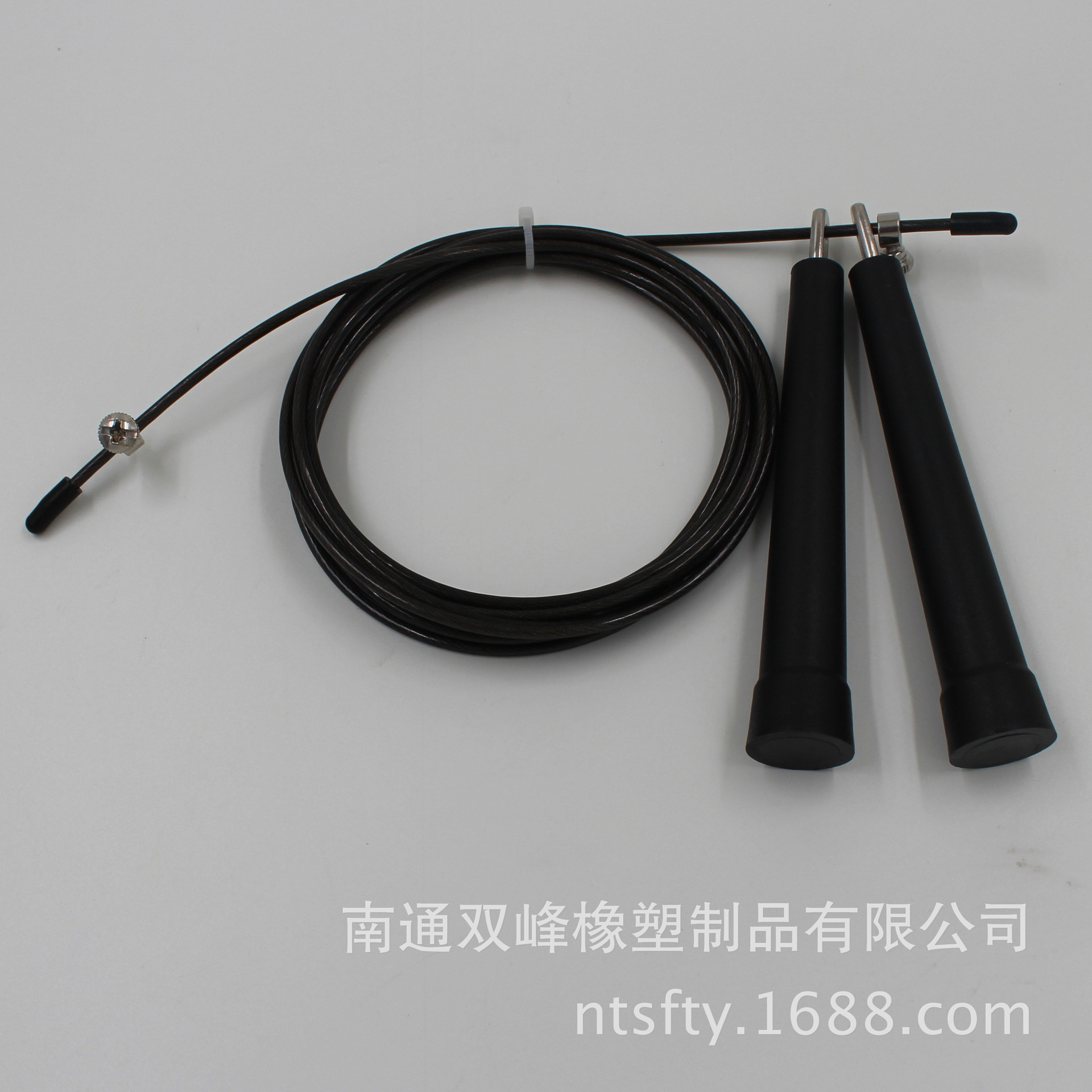 Factory Wholesale Steel Wire Jump Rope   Iron Head Jump Rope Metal Head Jump Rope Rapid Jump Rope Only