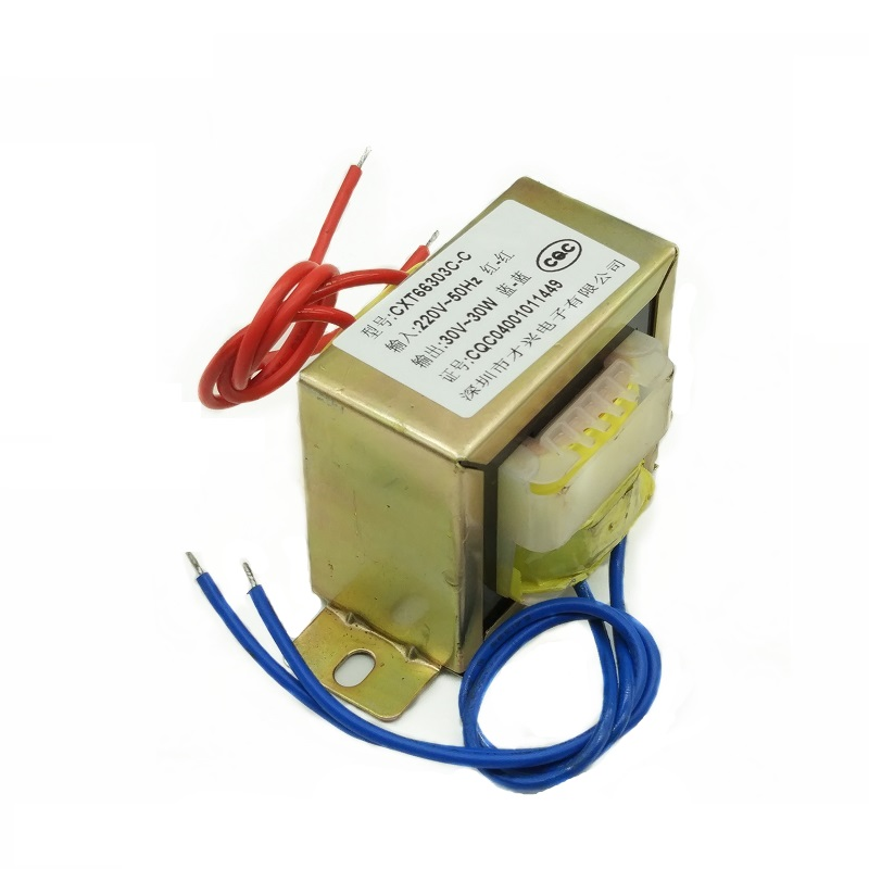 EI66-30W Power Transformer 30W <font><b>30VA</b></font> 220V to 30V 1A AC AC30V Transformer image