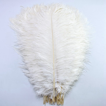 Wholesale 15-70CM Natural white feathers ostrich plumes DIY large ostrich feathers party Wedding feathers for crafts Decorations