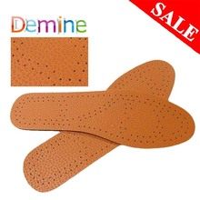 цена на Ultra Thin Breathable Insole Deodorant Leather Insoles skin Instantly Absorb Sweat Replacement Inner Soles Shoes Insole Pads
