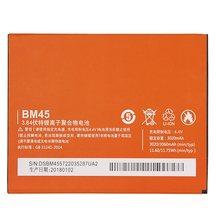 Оригинальный antirr BM45 Мобильный телефон батарея для Xiaomi Redmi Note 2 Hongmi Note2 Замена батареи реальная емкость 3020mAh