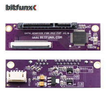 Bitfunx sataアダプタアップグレードボードプレイステーション 2 PS2 ideオリジナルネットワークアダプタ