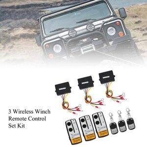 12V 50Ft беспроводной набор лебедки с дистанционным управлением набор переключателей для джипа грузовика внедорожника ATV