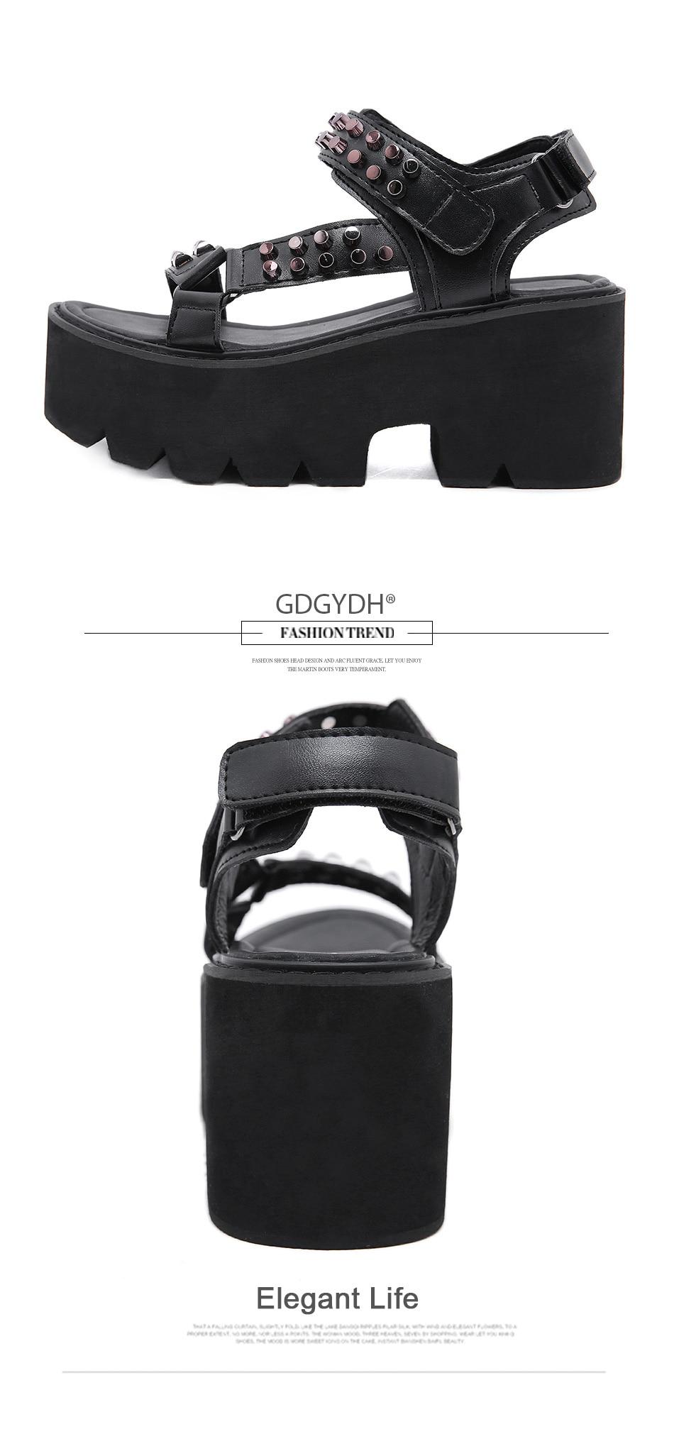 fashion gothic style women shoes