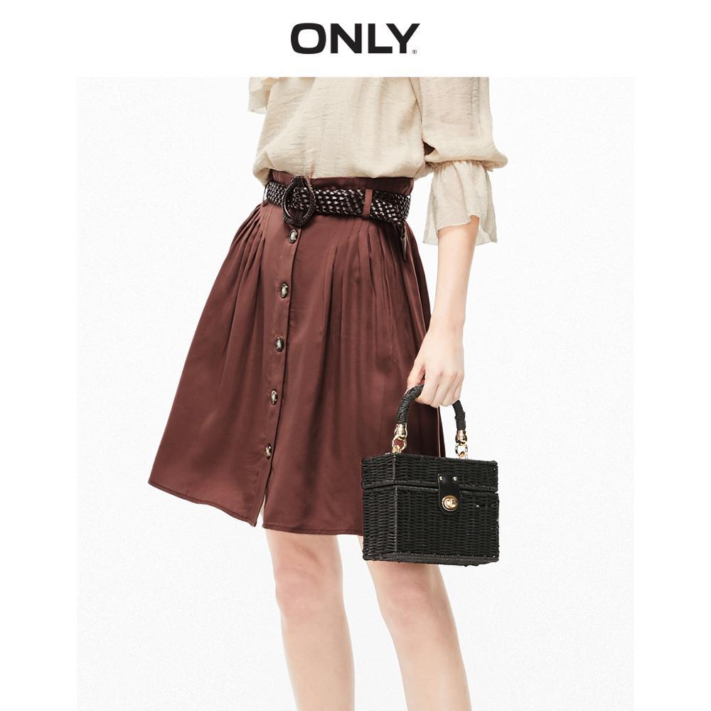 ONLY Women's High-rise A-line Skirt | 119216507